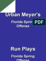 Urban Meyer Florida Offense