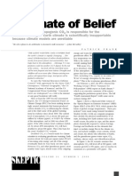Climate of Belief