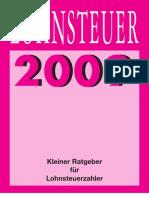 Lohnsteuer-Ratgeber 2009