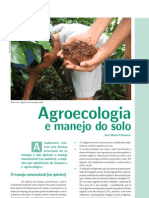 Agroecologia e Manejo Do Solo