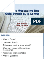 internet message bus gets struck by a comet