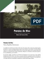 Libro Paraiso de Dios