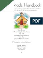 Third Grade Handbook