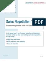 Sales Neg Training