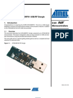 Avr296 Avrusbrf01 Usb Rf Dongle