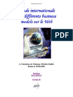 Etude Internationale Des Différents Business Models Sur Le Web