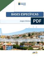 JIM UV 2011. Bases específicas