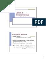 Crisis y Transiciones Class 2011