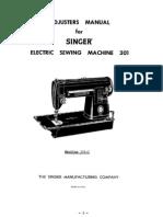Singer 301 Service Manual