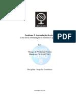 Fordismo X acumulação flexivel por. Thiago de Alcântara Pereira
