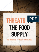 Threats to the Food Supply
