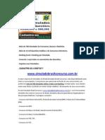 Simulado Questões Concurso INSS 2011