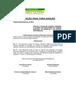 Projeto de resoluao 012011 pccr cambar 2011_redação final para sanção