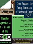 YDRC 2011 Annual Awards Dinner Flyer