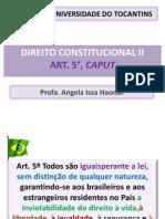 Aula Caput art. 5°
