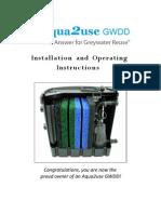 Aqua2use+GWDD+Instruction+Manual
