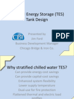 Thermal Energy Storage Tank Design