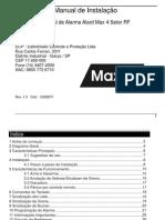 ALARME Manual Max 4 ALARD Max 4 Rf