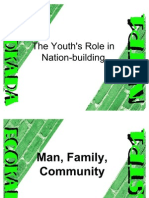 Filipino Youth in Nation Builfing