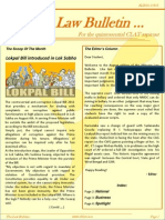 Abhyaas Law Bulletin- August 2011