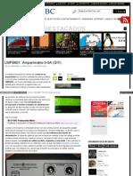 LMP8601 Amperímetro 0-5A (DIY)