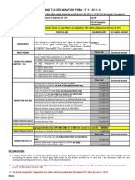 Investment Declaration Form11-12