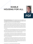 Brian Donnelly - Affordable Housing for All