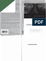 Lefebvre-The Urban Revolution