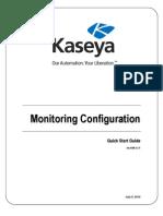 Kaseya_Configurazione Del Monitoraggio