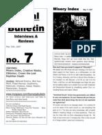 Metal Bulletin zine # 7