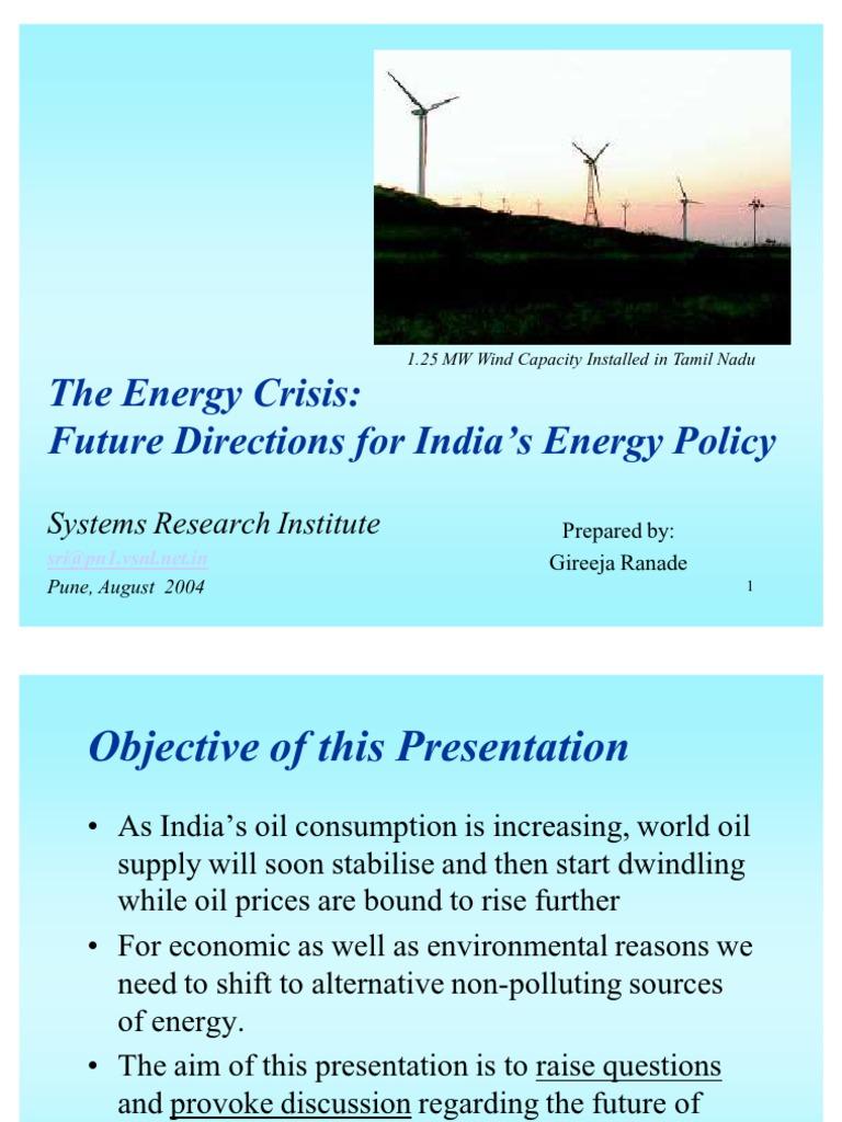 The Energy Crisis | Renewable Energy | Wind Power