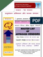 vendor_directory 01-07-2011-31-12-2011 | Business Process | Technology