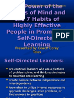 27 27 the Power of the Habits of Mind and the 7 Habits of Highly Effective People in Promoting Self Directed Learning