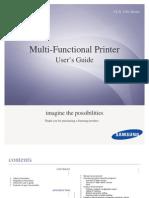 Multi-Functional Printer - Samsung CLX-318x Series