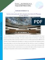 Gestion internationale de la situation des droits de l'homme en Côte d'Ivoire
