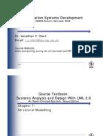 CH 7 - CRC Cards Class Diagram Object Diagram