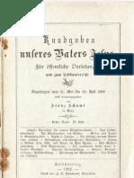Franz Schumi - Nr. 80 II Kundgaben Unseres Vaters Jesu
