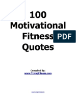 100 Fitness Quotes