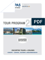 Kompas 2012 Escorted Tours with Guaranteed Departures