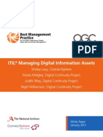 ITIL Digital Assets White Paper