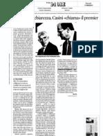 Il Pd chiede chiarezza, Casini «chiama» il premier  - Sole24Ore del 11.08.11