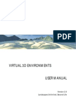 Virtual 3D Environments User Manual - Version 2.0