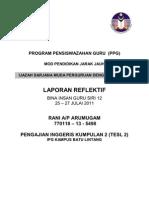Refleksi Kendiri Big_rani Arumugam