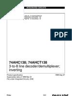 Decoder 74ls138
