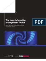 Lean Information Management Toolkit TOC