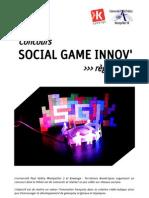 Règlement du concours Social Game Innov
