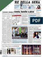 Corriere Della Sera 11.08.11