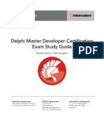 Delphi Master Developer Certification Study Guide