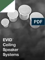 Ev Cealing Speakers
