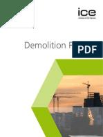 Demolition Protocol 2008